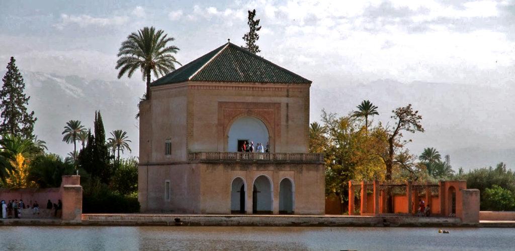 Le bassin de la Menara