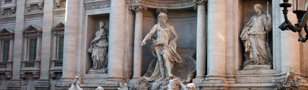 Fontaine de Trevi : Rome et son Art Baroque