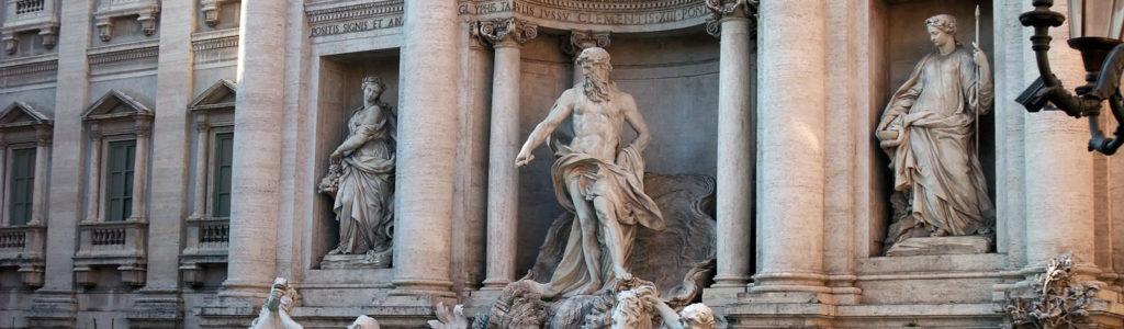 Fontaine de Trevi : Rome et son Art Baroque