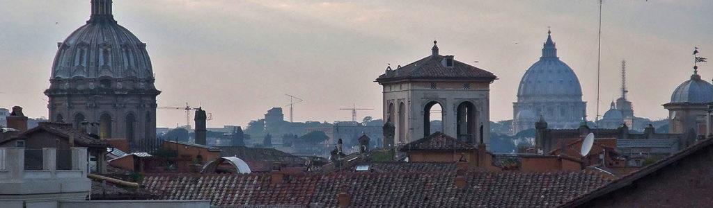 Photos des toits de Rome
