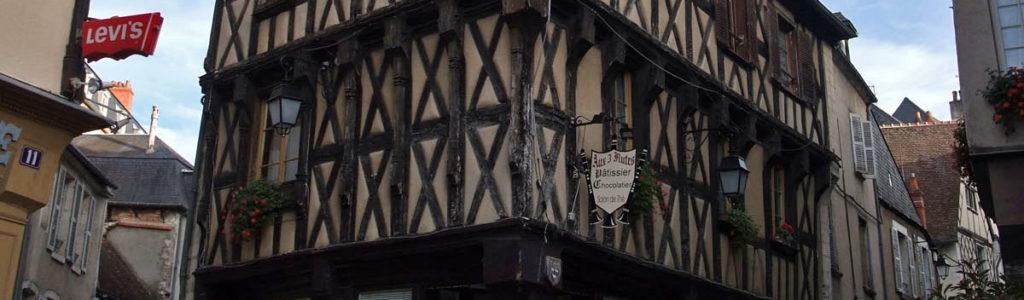 Maisons du centre historique de Bourges