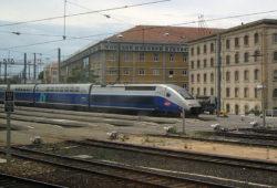 Paysages de France vu d'un TGV Paris Marseille