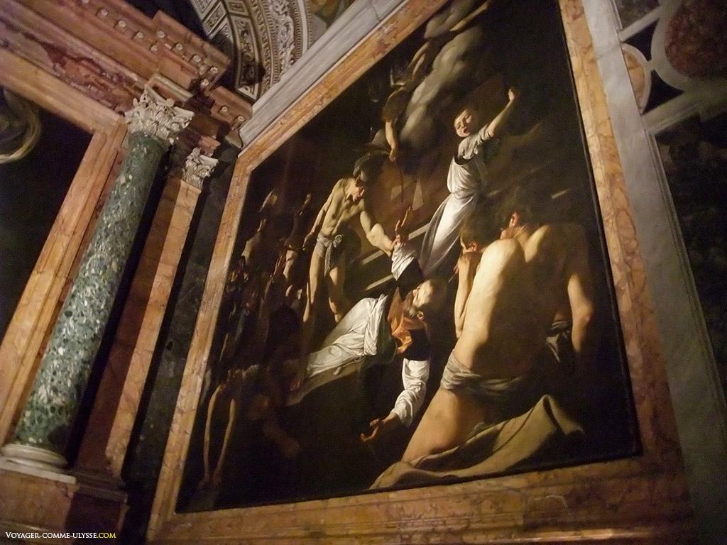 Le martyr de Saint Mathieu