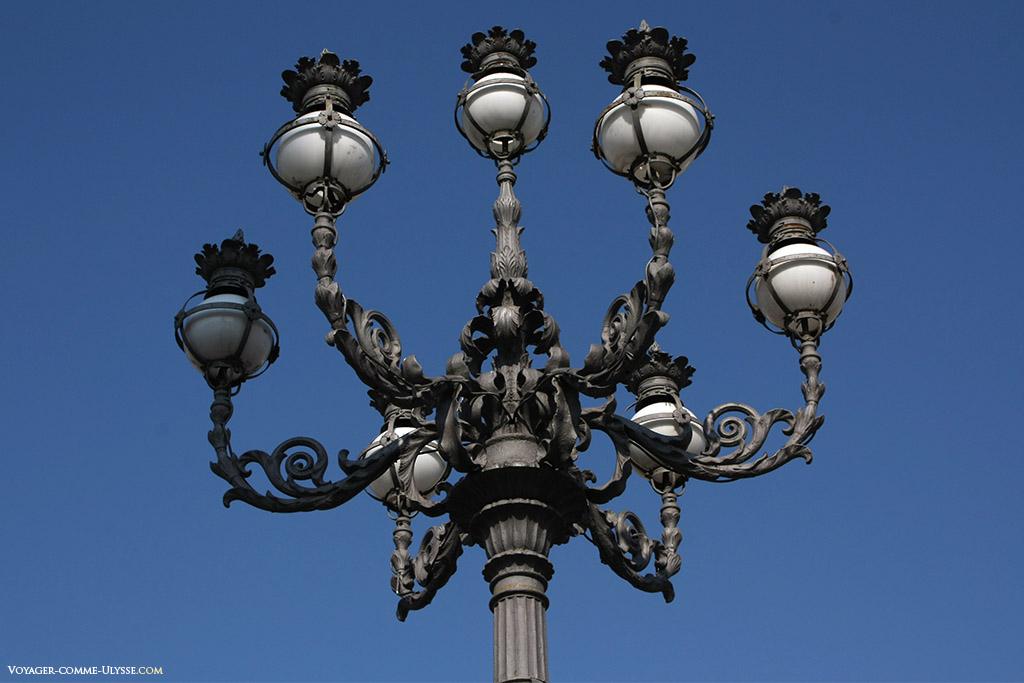 Lampadaire du Vatican