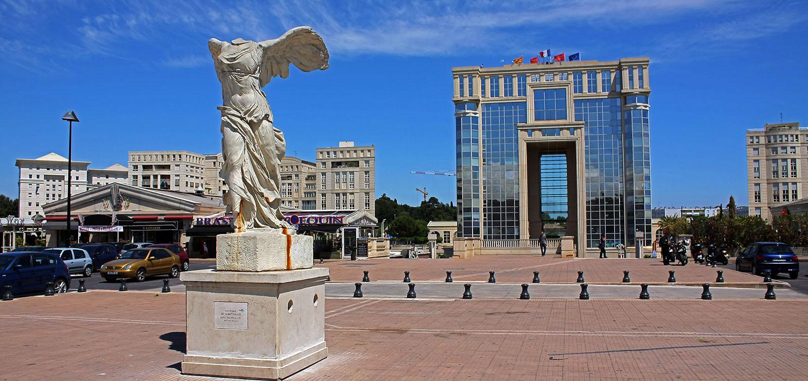 Quartier Antigone de Montpellier : une architecture moderne à vivre