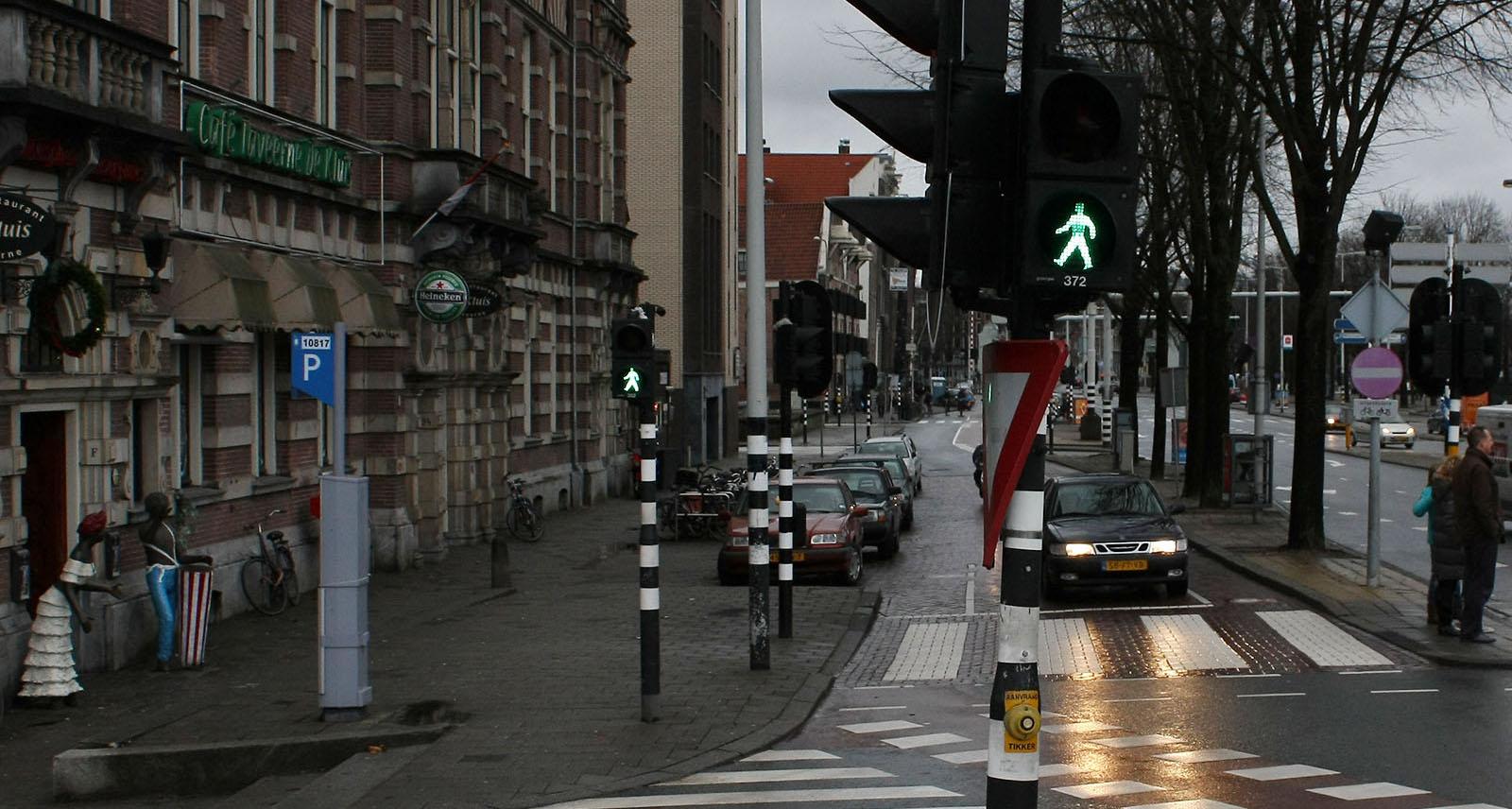 Mobilier urbain d'Amsterdam