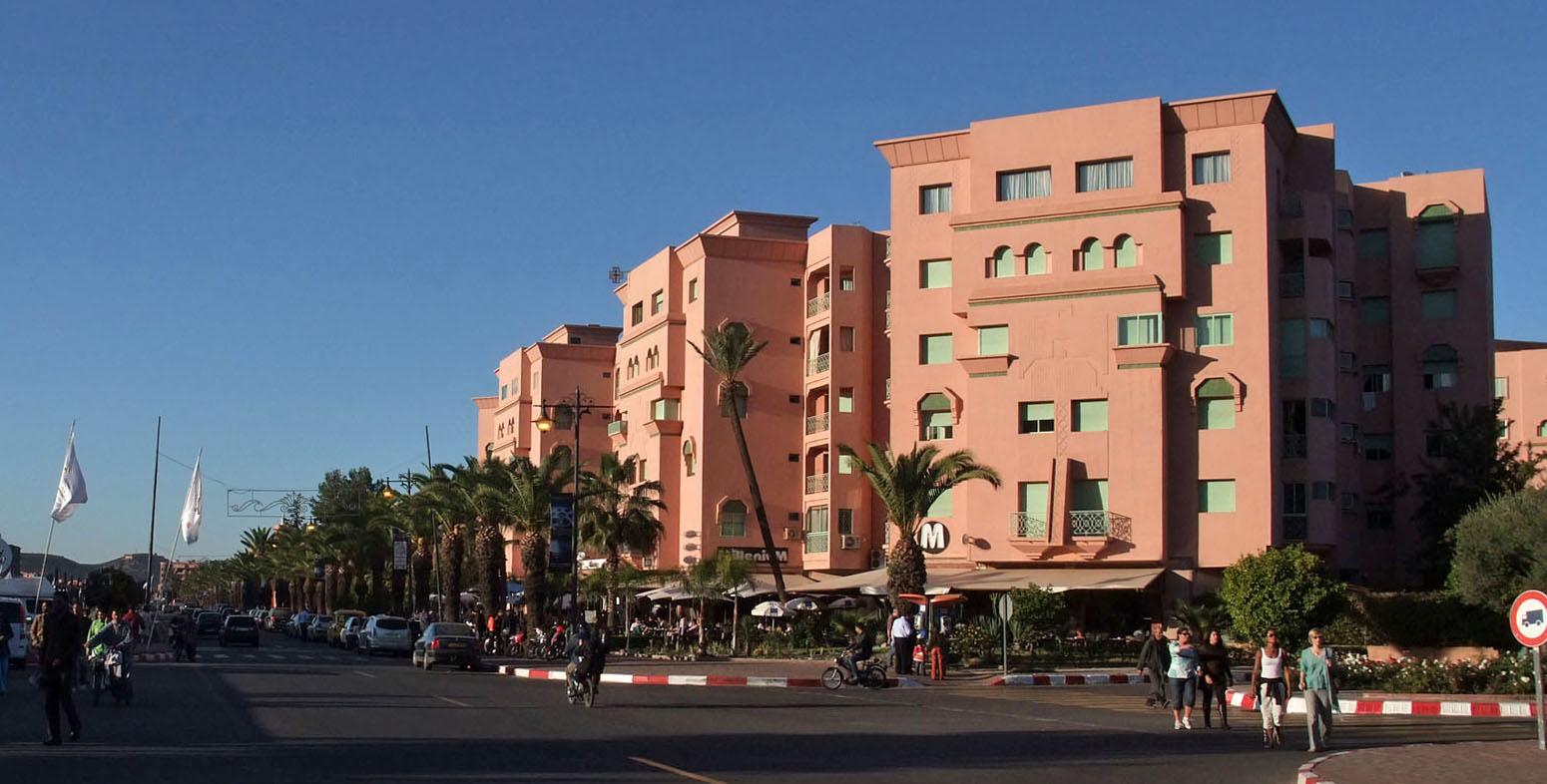 Quartiers modernes de Marrakech : Guéliz et Hivernage