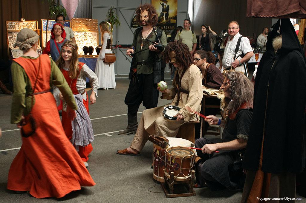 Troubadours et danseurs