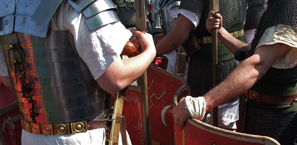 Revivre la Rome Antique sur l'archéosite d'Aubechies