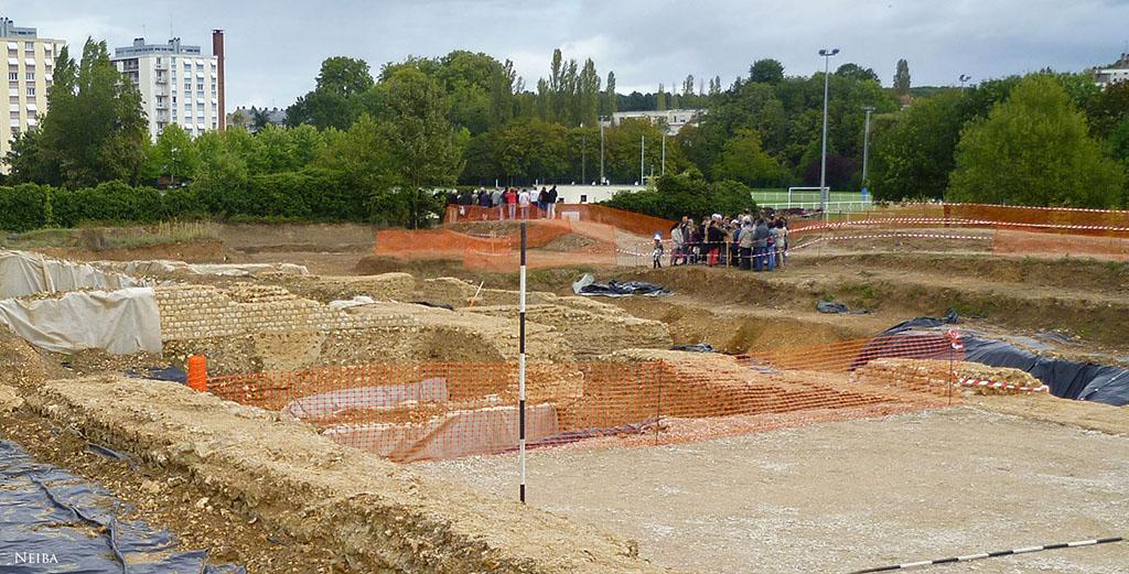 Chantier de fouilles de Saint-Martin-au-Val