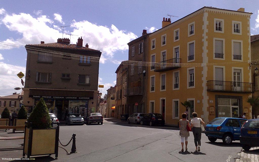 Petite place d'Issoire