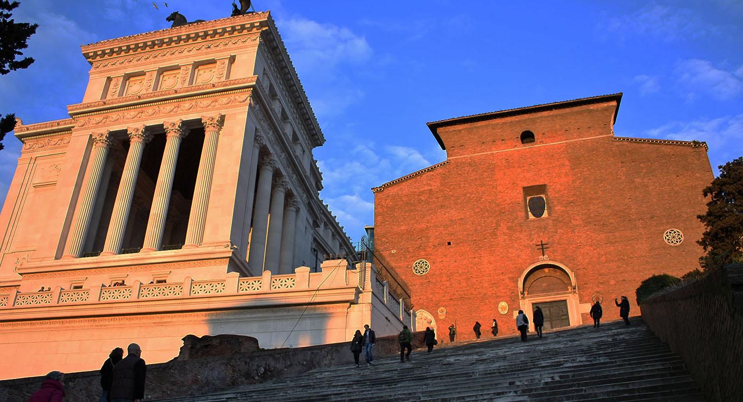 L'église du Capitole, Sainte Marie d'Aracoeli