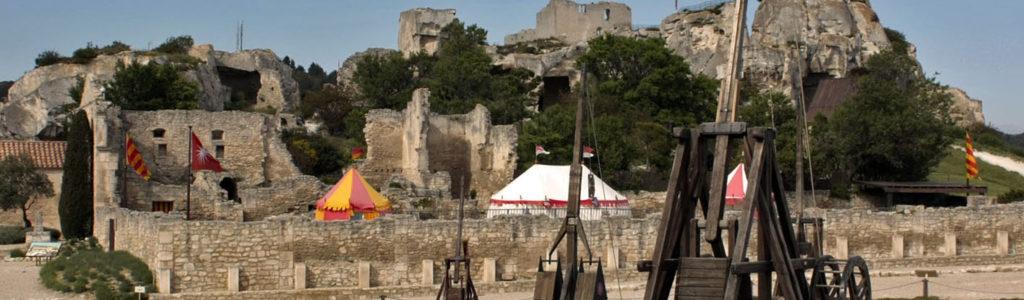 Les Baux-de-Provence : voyage au Moyen-âge
