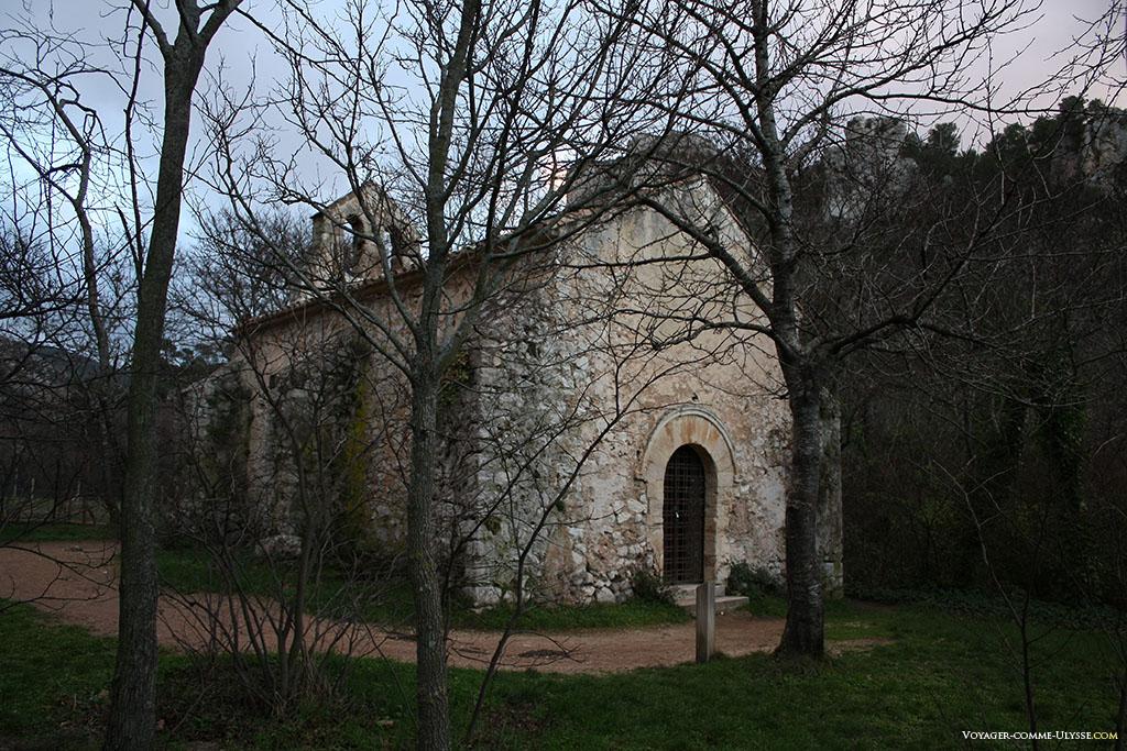 Chapelle de Saint-Martin-le-Vieux, l'ancienne église paroissiale de Gémenos-le-Vieux, l'ancien village