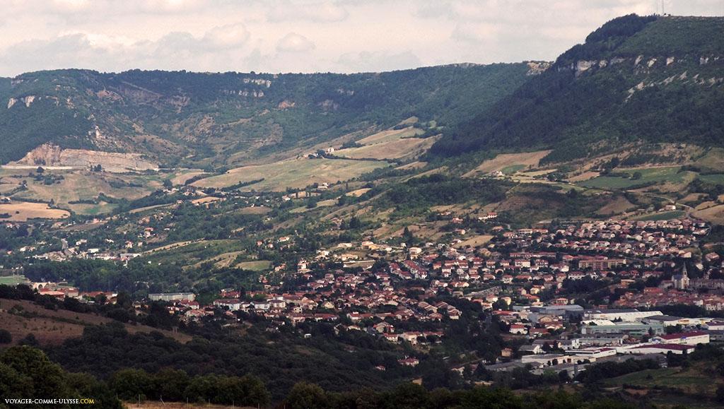 Le village de Creissels est tout proche, à coté de Millau