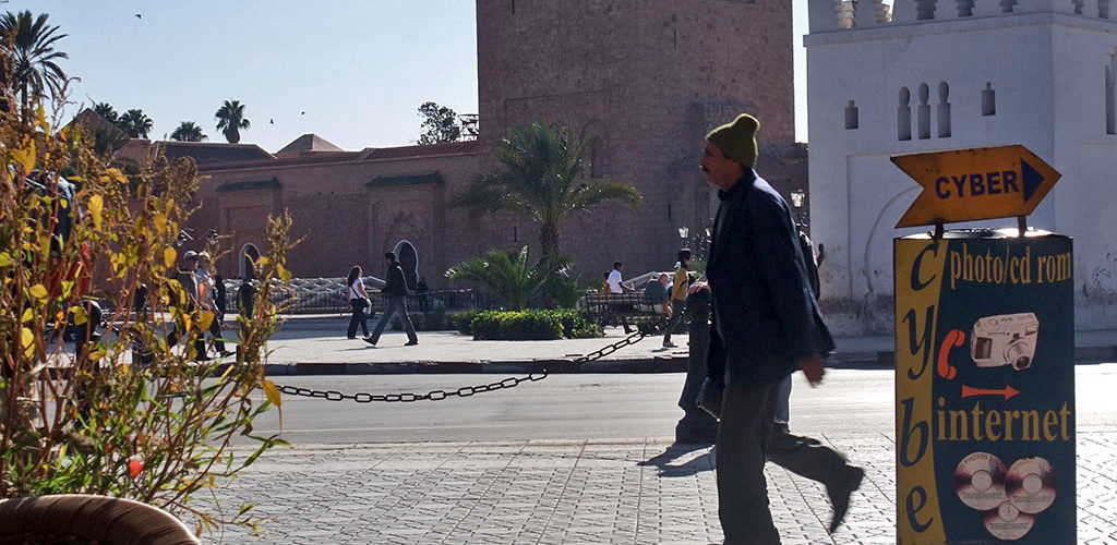 Tranche de vie à Marrakech, près de la Koutoubia