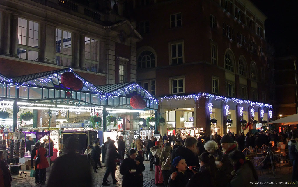 Le marché couvert de Covent Garden