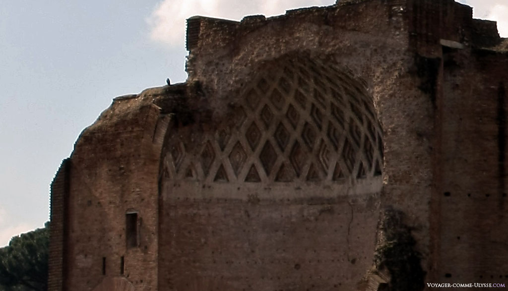 Abside do Templo de Vénus e de Roma.