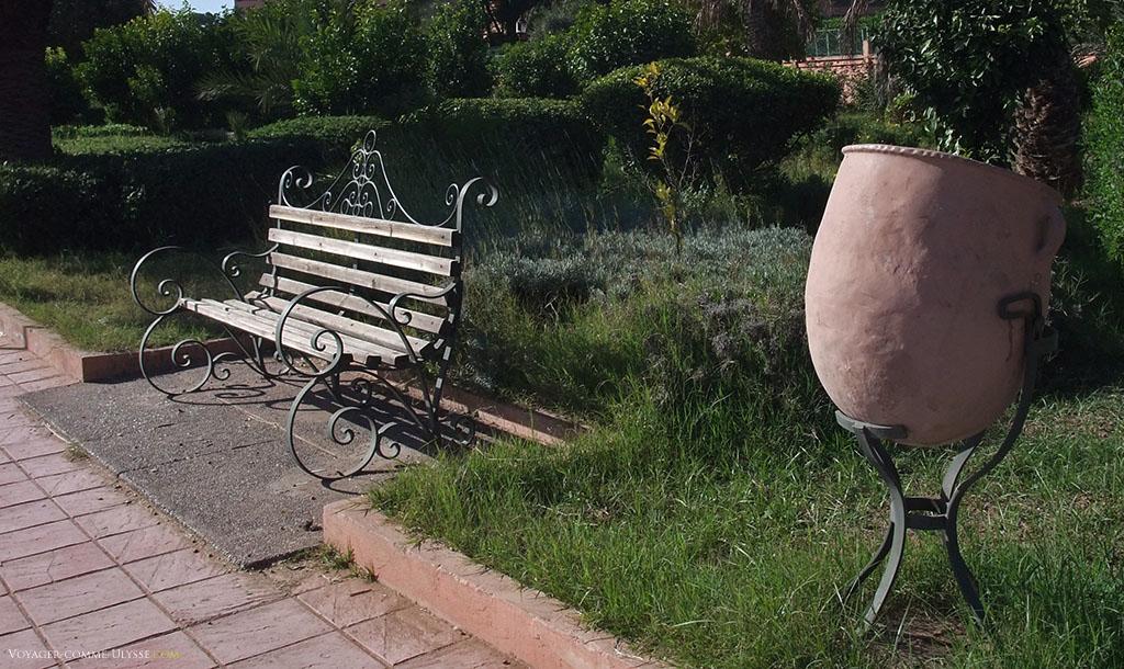 Mobilier Urbain De Marrakech Vicedi Voyager Comme Ulysse