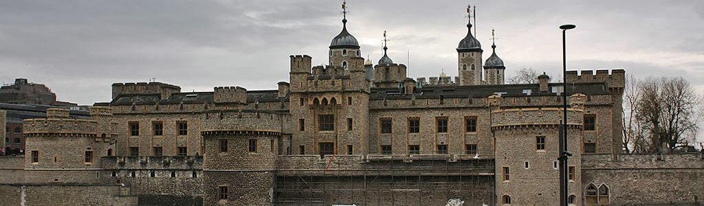 La Tour de Londres, le château-fort anglais