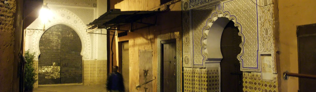 La médina de Marrakech