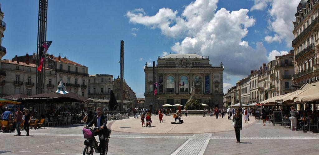 A la découverte de la ville de Montpellier