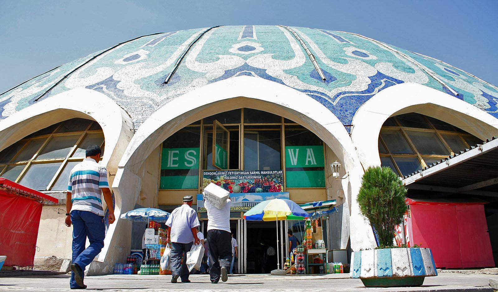 Le Bazar de Tchorsou, marché de Tachkent