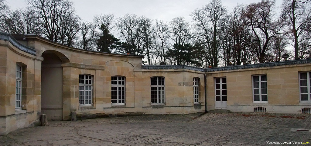 Habitações feiosas dos guardas de Napoleão.