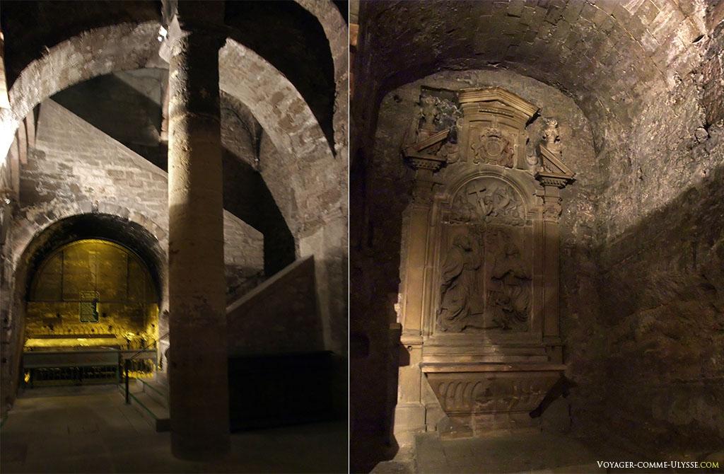 Crypte et autel de Saint Victor