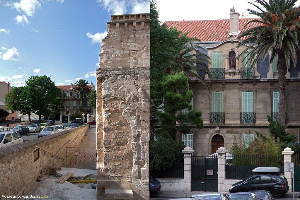 Cet hôtel particulier, juste à coté de l'abbaye, se nomme La Rose du Ciel. Il appartient à la Rose Croix. Paul Valéry y a vécu.