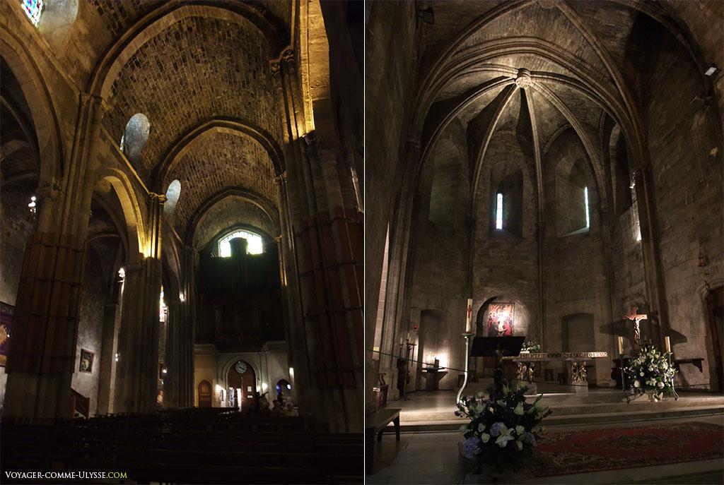 La nef est du XIVème siècle. Le Maitre autel est de 1966.