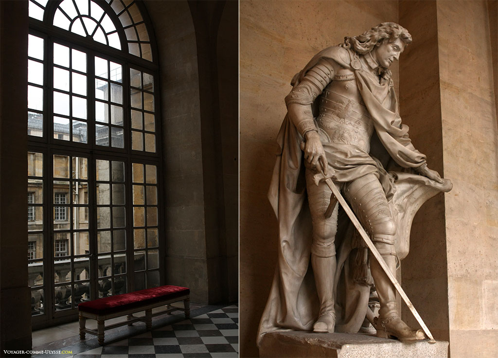 Une des personnalités de Versailles, Nicolas de Catinat, militaire français et maréchal de France.