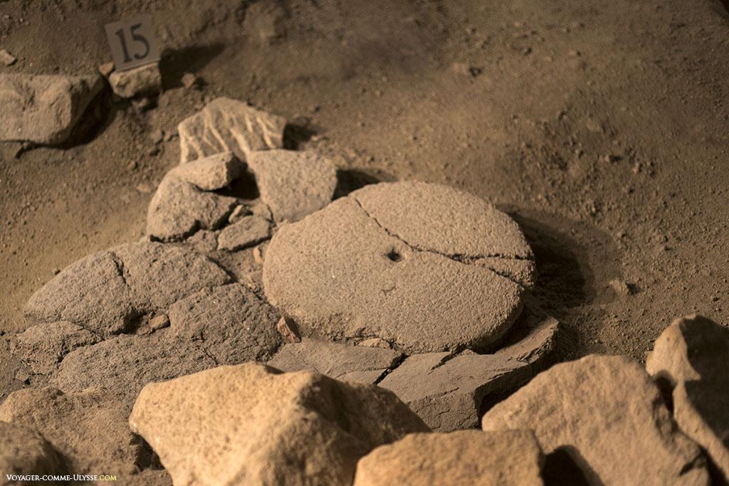 Roman quern-stones