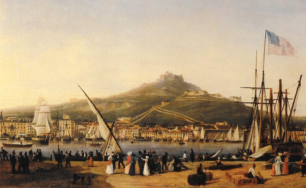 Notre-Dame-de-la-Garde en 1820, par Louis Garneray