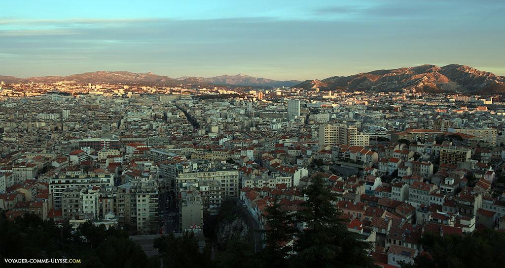 Panorama sur la ville de Marseille
