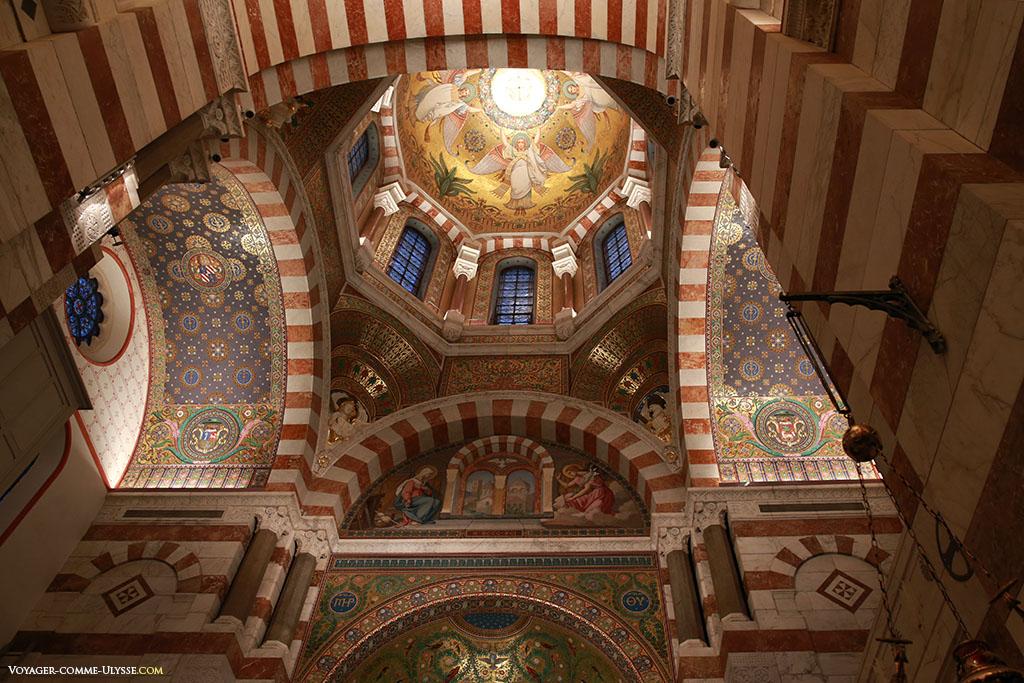 Grande coupole du transept.