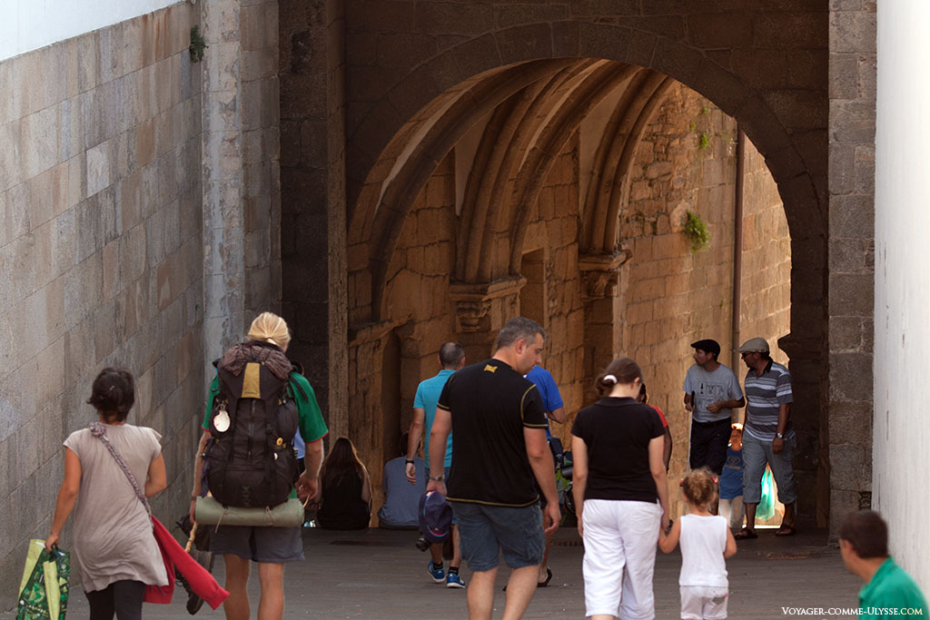 Foto do Arco do Pazo