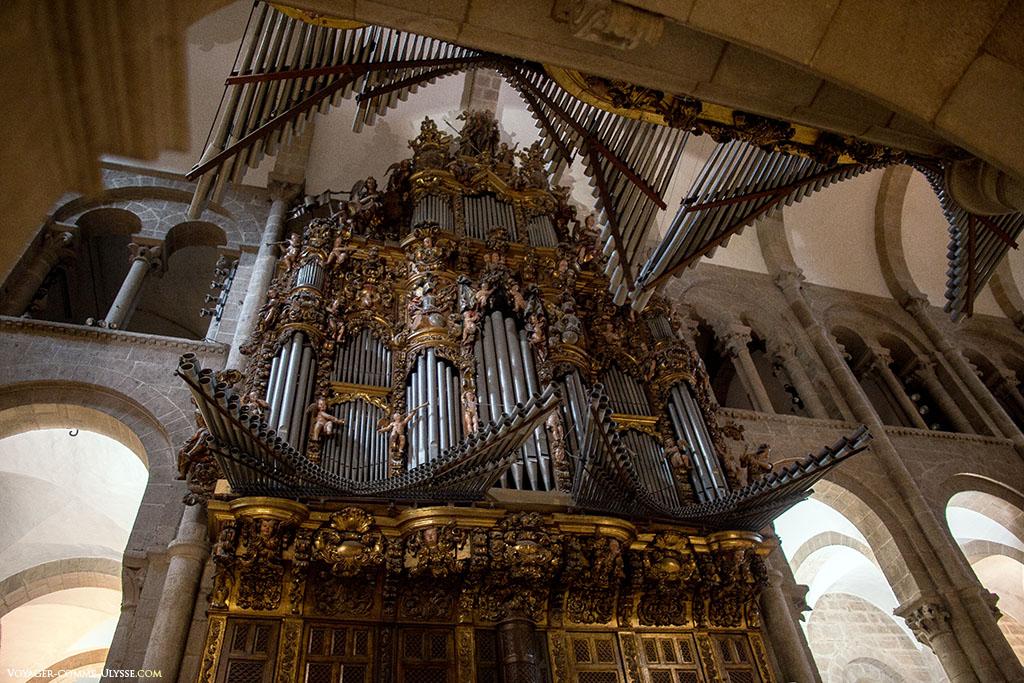Os órgãos da catedral são do início do século XVIII.