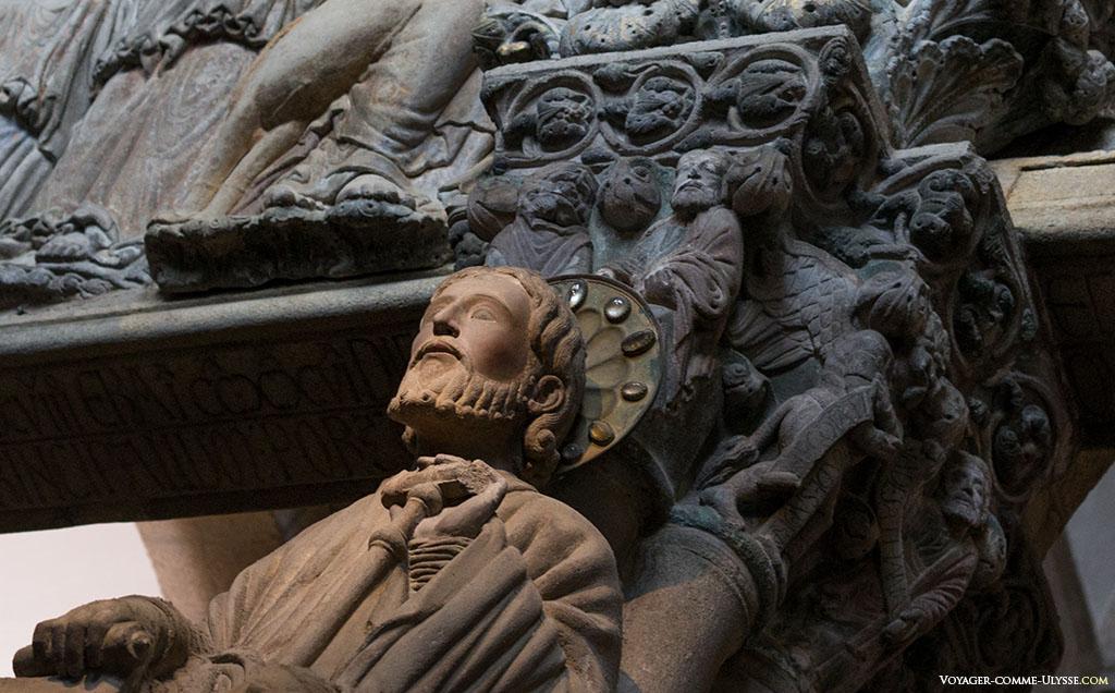 Saint Jacques dans le Porche de la Gloire