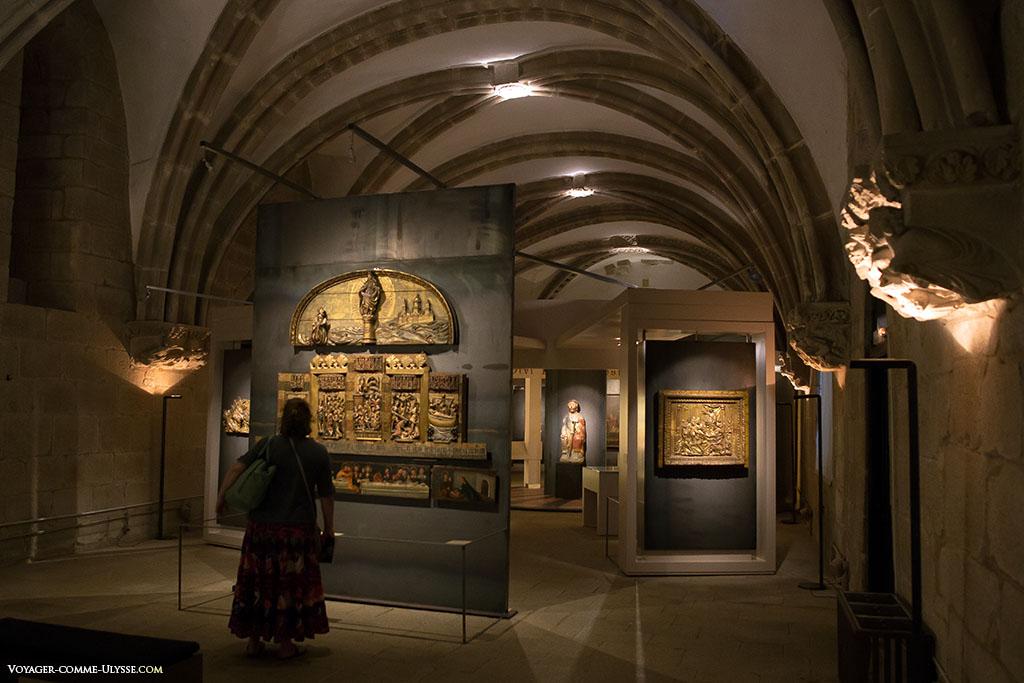 O Palácio de Gelmirez é hoje um museu.
