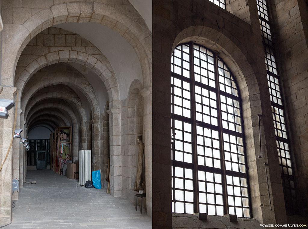 Derrière la façade de l'Obradoiro...