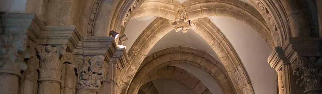 Intérieur de la Cathédrale de Saint-Jacques de Compostelle