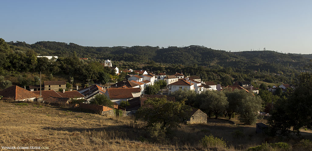 Panorama sur le village d'Abiul