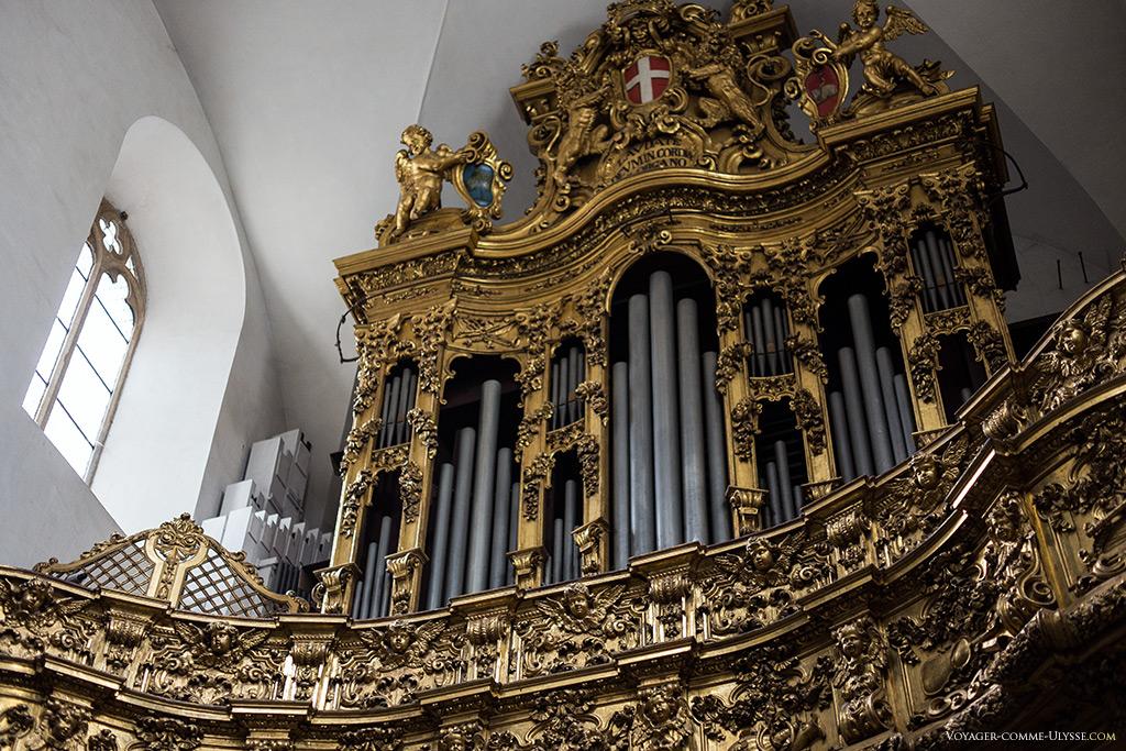 L'orgue construit par Giacomo Vegezzi Bossi, en 1874.