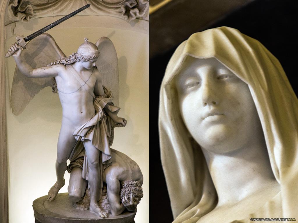 Statues du Tombeau Royal