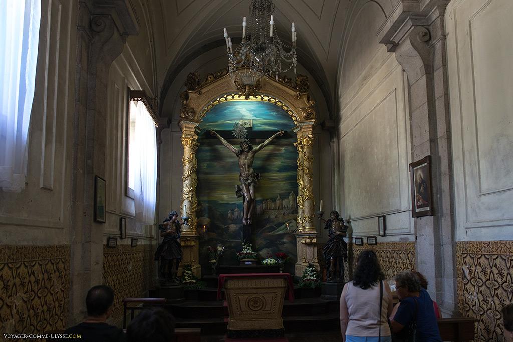 Image du Bon Jésus, destination finale des fidèles.