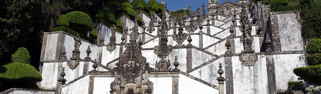 Bom Jesus de Braga, Portugal : le sanctuaire