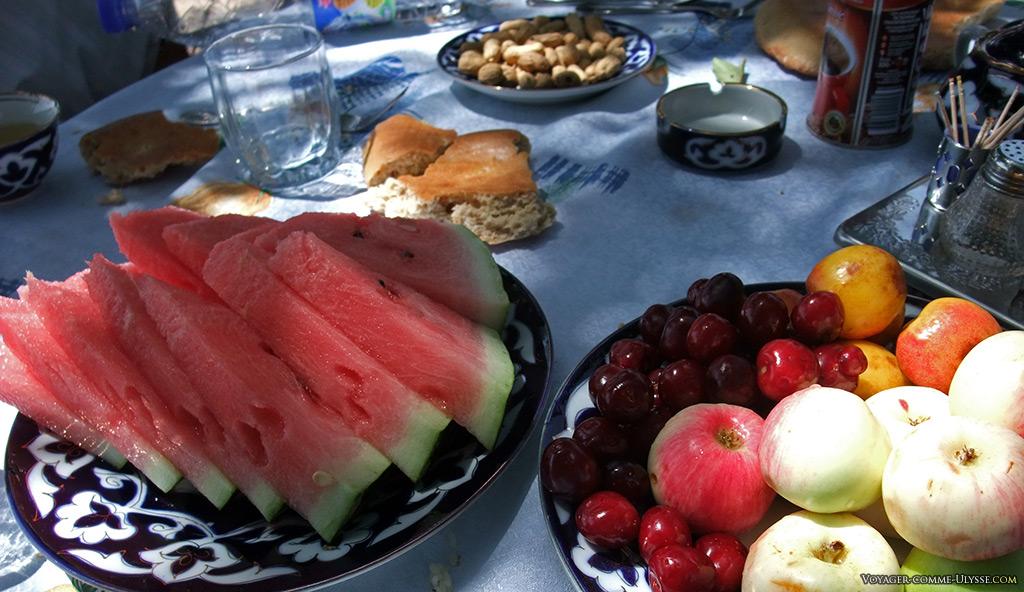 Fruits de saison, idéaux pour se rafraîchir.