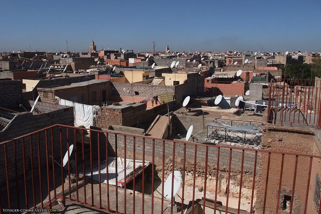 La Médina n'est pas le lieu de résidence des riches marocains, qui préfèrent les quartiers modernes de la ville.