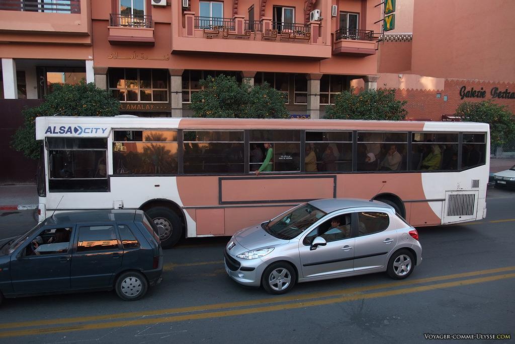 Autobus de l'entreprise Alsa.